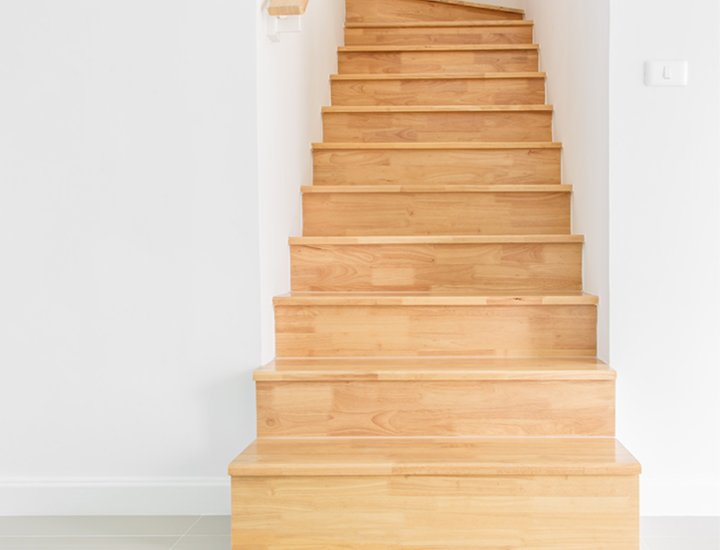 Delivery & Returns staircase image
